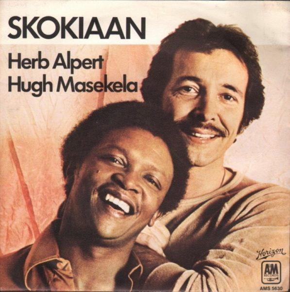 "Cover for Herb Alpert and Hugh Masekela's ""Skokiaan"""