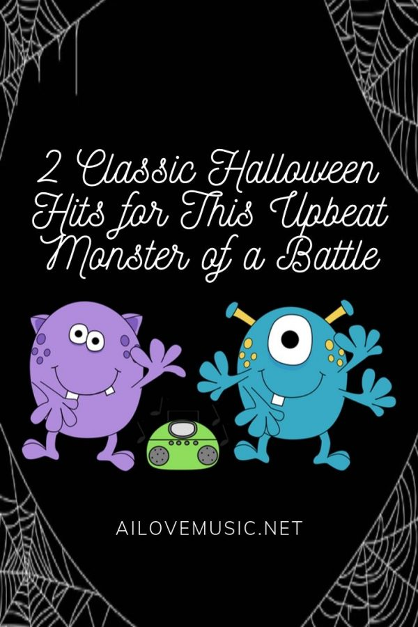 "Pin Image for ""2 Classic Halloween Hits for This Upbeat Monster of a Battle"""