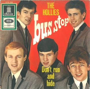 "60s' rock tune ""Bus Stop"" with The Hollies and Graham Gouldman"