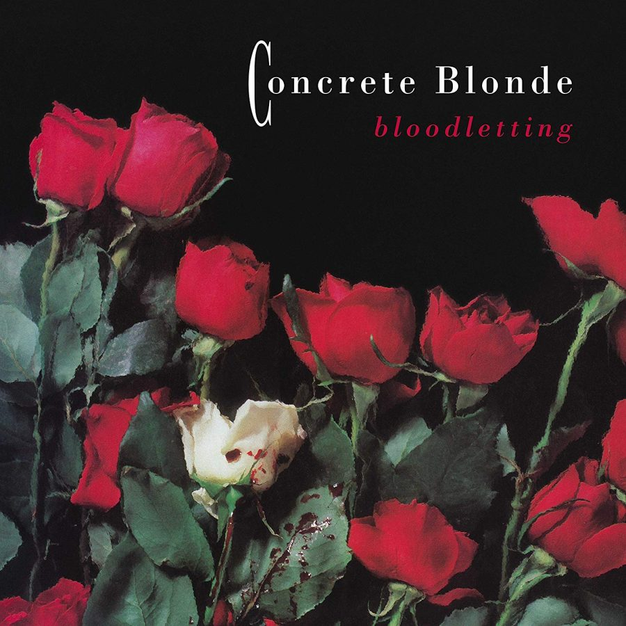 "Concrete Blonde's ""Bloodletting"" album cover"