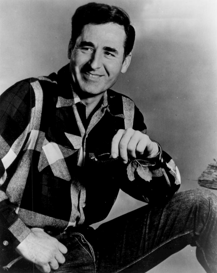 "Sheb Wooley, singer of the song ""Purple People Eater"""