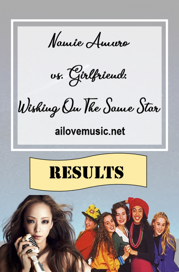 RESULTS for Namie Amuro vs. Girlfriend: Wishing On The Same Star pin image