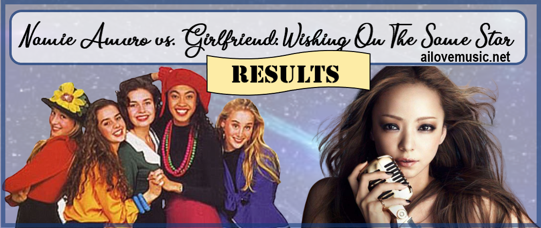RESULTS for Namie Amuro vs. Girlfriend: Wishing On The Same Star