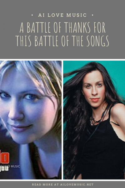 "Pin Image for ""A Battle of Thanks for this Battle of the Songs"""