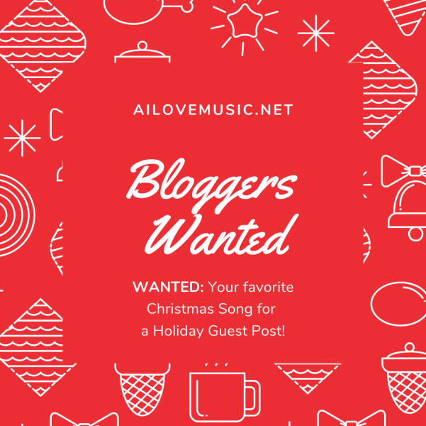 "Helped Wanted for ""25 Days of Holiday Songs"" Challenge 2019"