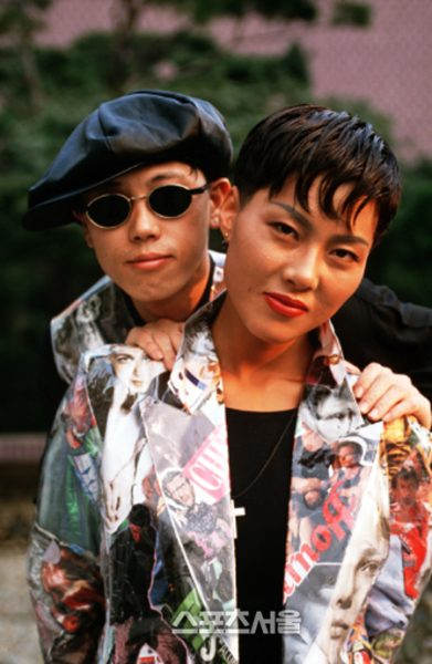 Chuli and Miae in the 90s