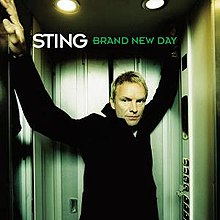 "Cover for Sting's ""Brand New Day"" single"