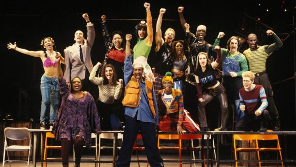 Original cast of the Broadway musical Rent