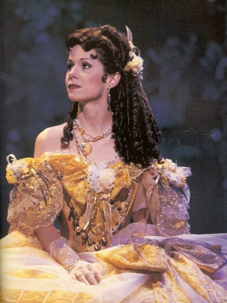 Susan Egan as Belle in `Beauty and the Beast`musical