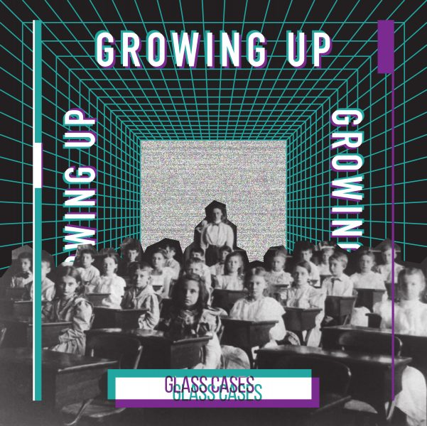 "Single Cover for ""Growing Up"" by Glass Cases"