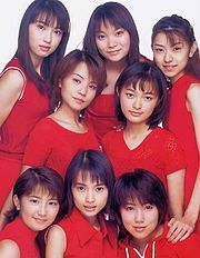 Morning Musume in 1999