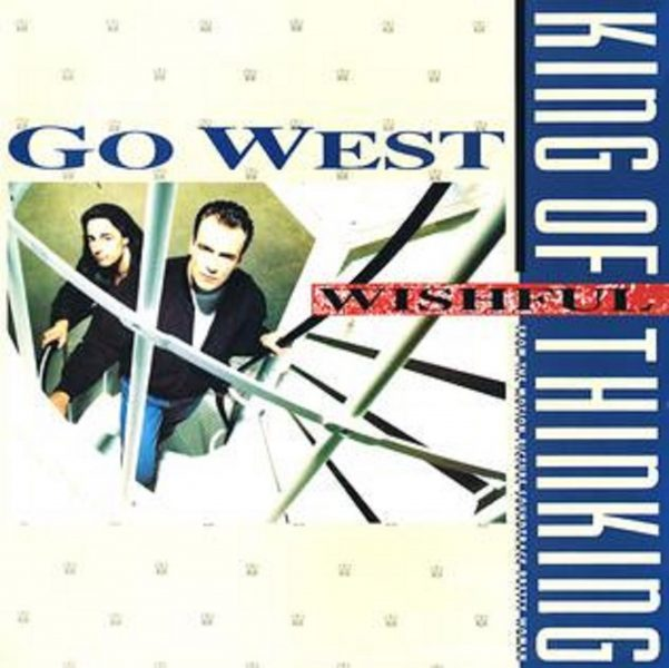 """Cover For """"King of Wishful Thinking"""" by Go West"""