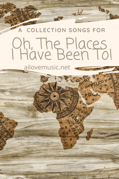 Oh, The Places I Have Been To!