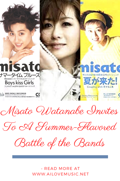 Misato Watanabe Invites To A Summer-Flavored Battle of the Bands
