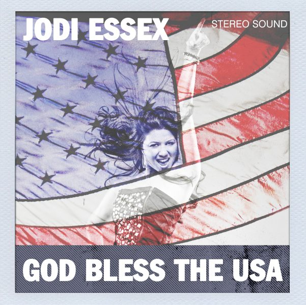 """Cover art for """"God Bless the USA"""" by Jodi Essex"""