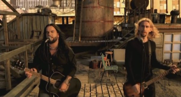 Screenshot of Hero by Chad Kroeger and Josey Scott