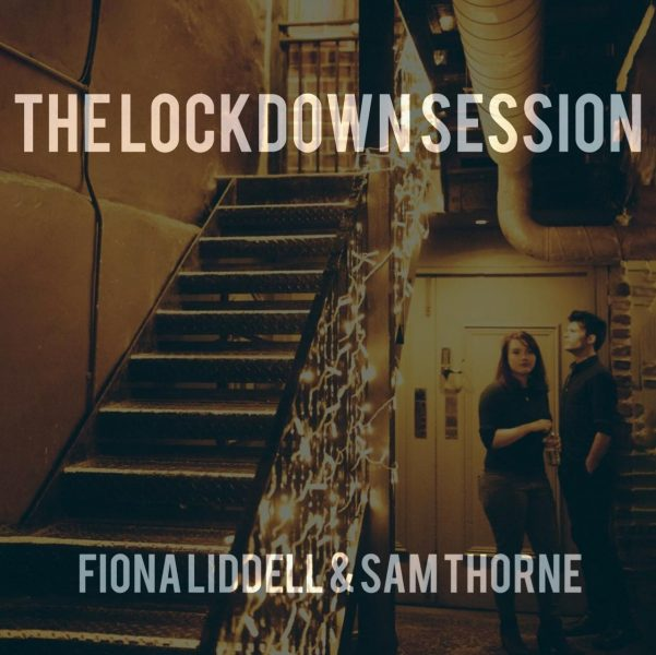 Cover Art of The Lockdown Session by Fiona Liddell