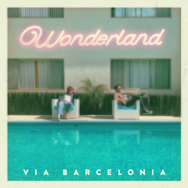 Via Barcelonia and the cover of their Newest Album 'Wonderland'