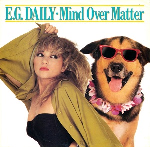 """The Cover art for E.G. Daily's single """"Mind Over Matter"""""""