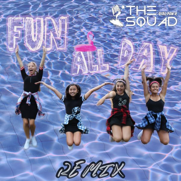 """Cover art for """"Fun All Day"""" remix by Girl Pow-R/The Squad"""