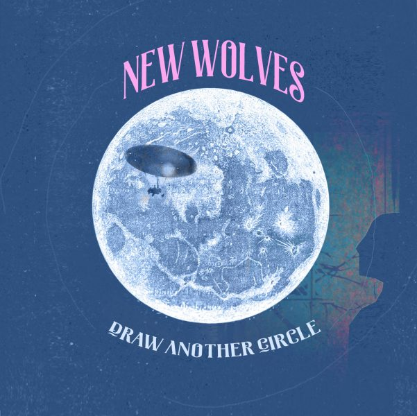 """Cover art for """"Draw another circle"""" by New Wolves"""