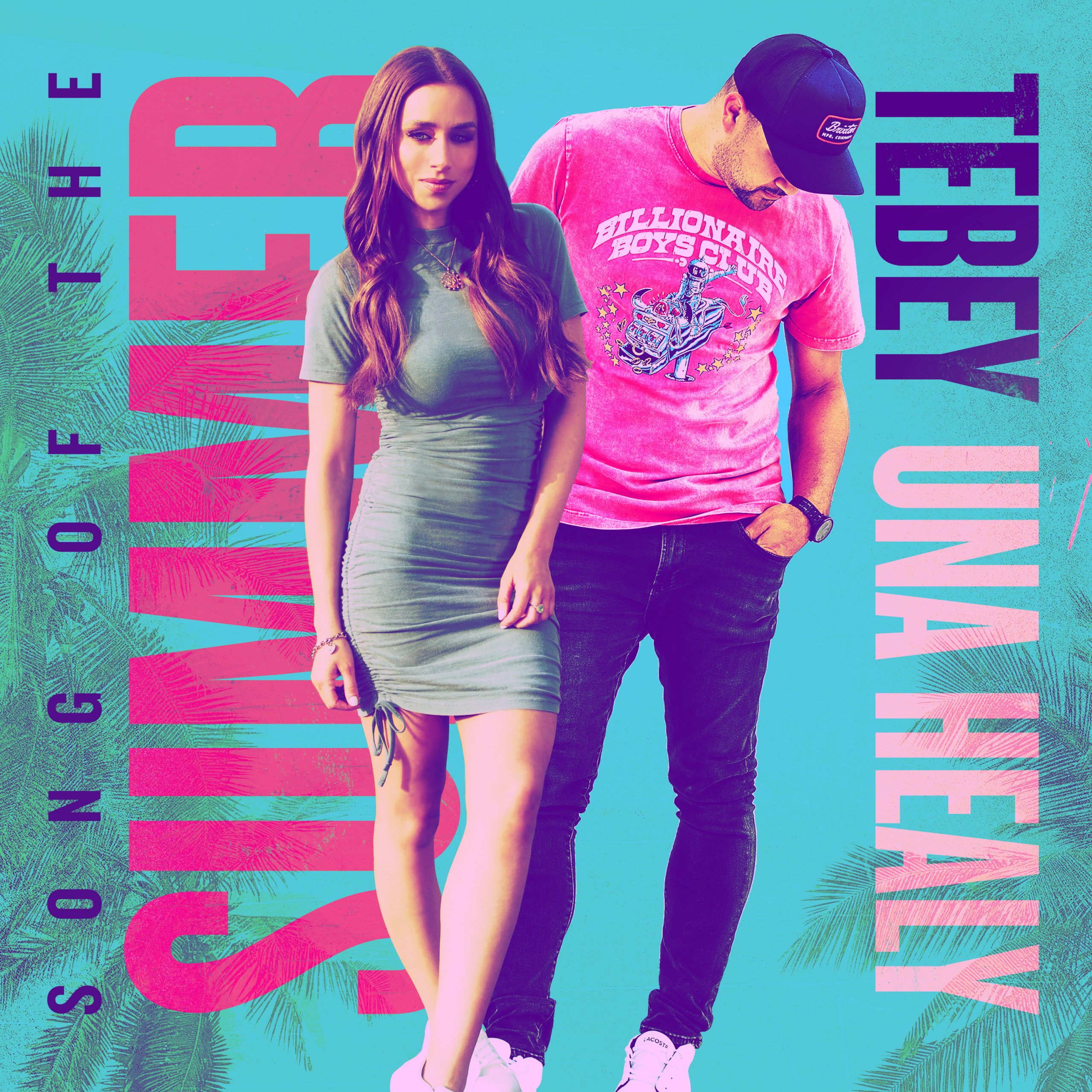 """You are currently viewing Canadian Country Artist Tebey Releases Vibrant New Single """"Song of the Summer"""" With Una Healy"""