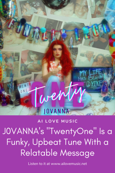 """J0VANNA's """"TwentyOne"""" Is a Funky, Upbeat Tune With a Relatable Message"""