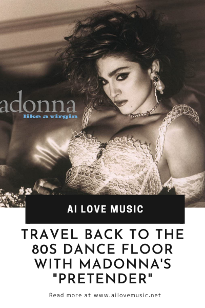 """Travel Back to the 80s Dance Floor With Madonna's """"Pretender"""""""