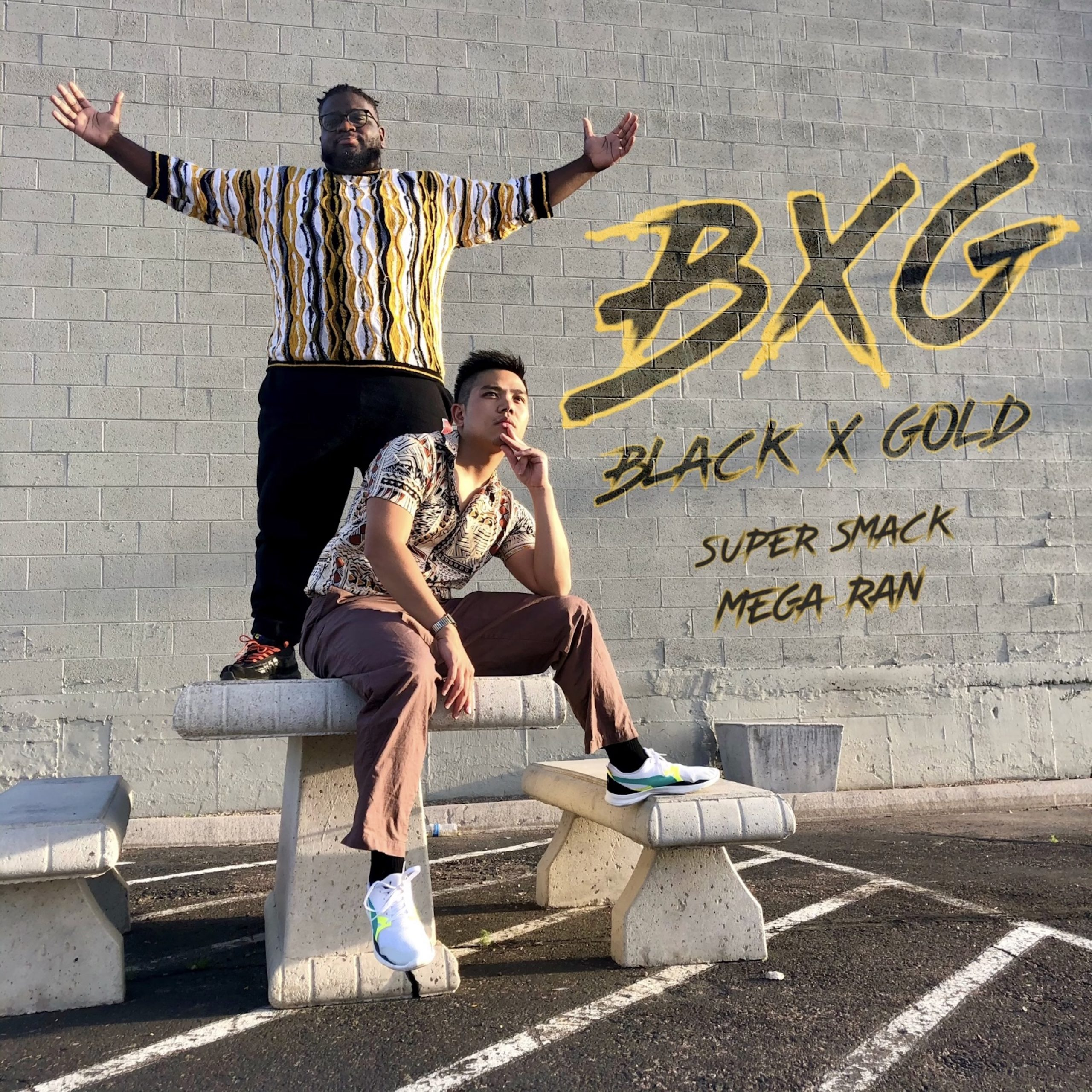 """Read more about the article American Hip-Hop Artist Super Smack Talks About His Latest Single """"Black X Gold"""" With Mega Ran"""