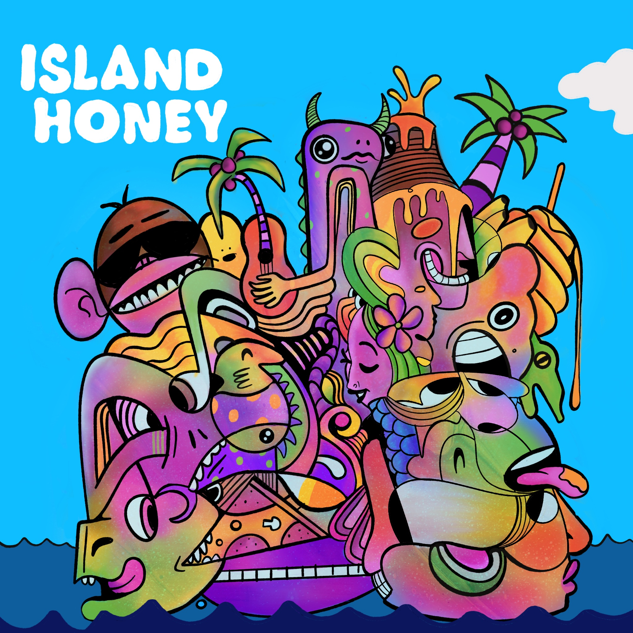 """Read more about the article Black Pontiac's """"Island Honey"""": A Summer Fling and A Psychedelic Shindig"""