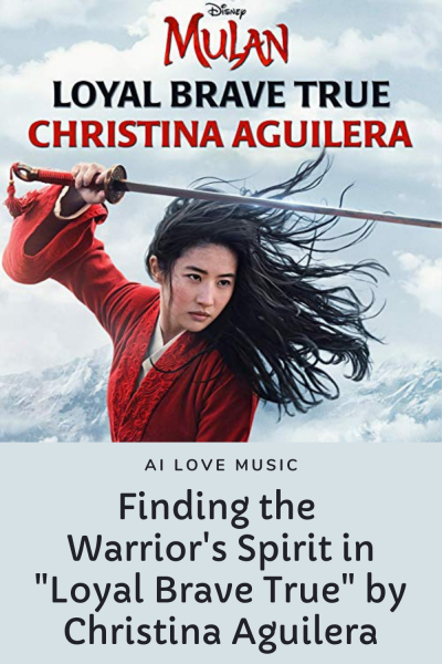 """Finding the Warrior's Spirit in """"Loyal Brave True"""" by Christina Aguilera"""
